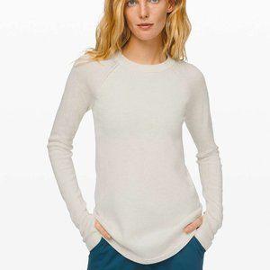 LULULEMON Sit In Lotus Sweater Light Ivory {II6}